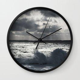 Tinfoil Seas Wall Clock