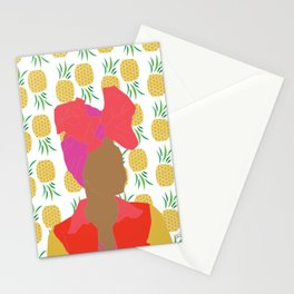 Pineapple Bawse Babe Stationery Cards