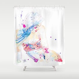 Jewel Fish Shower Curtain