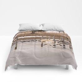 Westport River, Westport, MA ~ Frozen Over Comforters