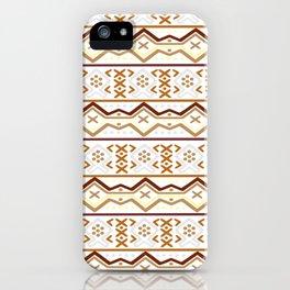 IMPROVED Mopti Motif iPhone Case