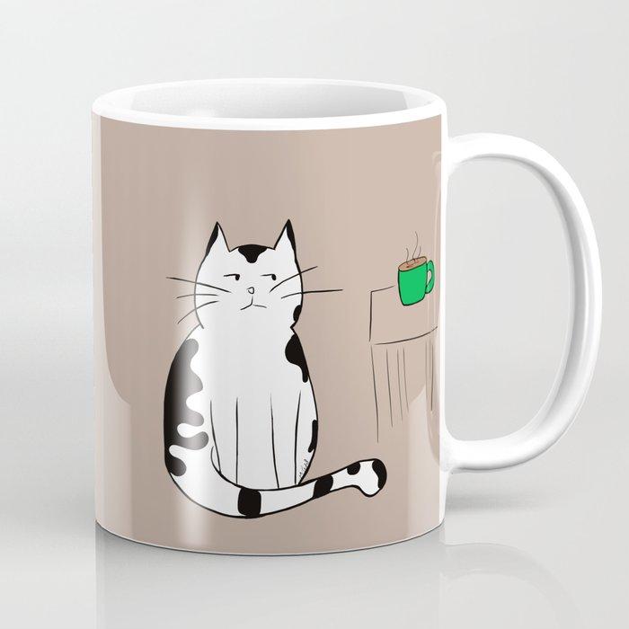 Java the Coffee Cat Coffee Mug