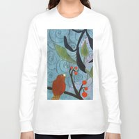 nemo Long Sleeve T-shirts featuring Little Nemo Bird  by Robin Maria Pedrero