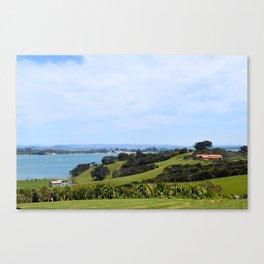 Waiheke Island Canvas Print