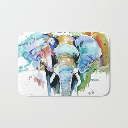 Animal painting Bath Mat