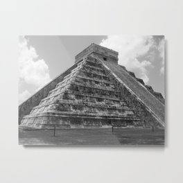 Chichen Itza Metal Print
