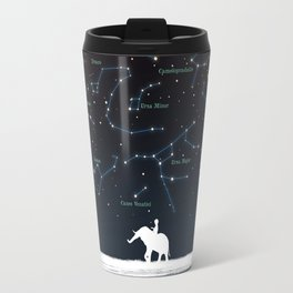 Falling star constellation Travel Mug