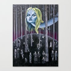 Who Killed Laura Palmer? ( Twin Peaks ) Canvas Print