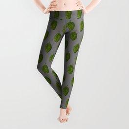 Hops Gray Pattern Leggings