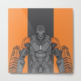 Iron Man XXV Metal Print