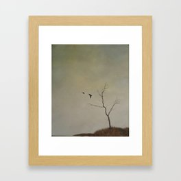 and then Framed Art Print