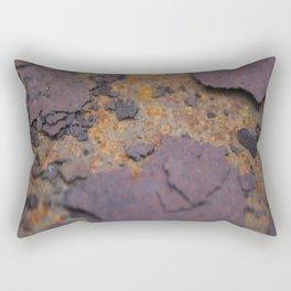 Rust on Rust rustic decor Rectangular Pillow