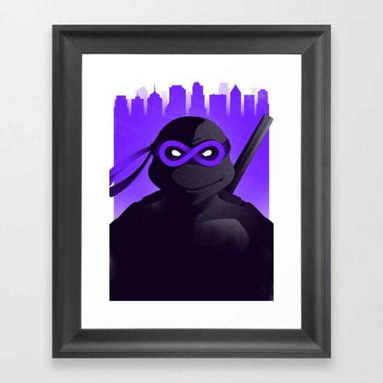 Donatello Forever Framed Art Print