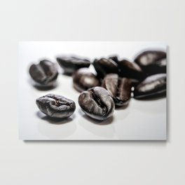 French roast coffee beans Metal Print
