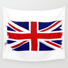 Union Jack Grunge Wall Tapestry