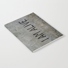 I AM ALIVE - Black - Detroit: Become Human Deviant Writing Notebook