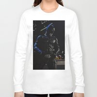 superhero Long Sleeve T-shirts featuring Superhero by VAWART