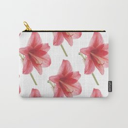 Amaryllis pattern Carry-All Pouch