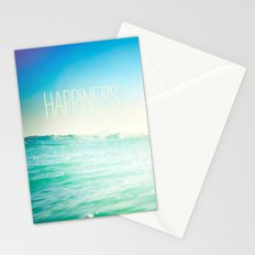 beachy happiness Stationery Cards