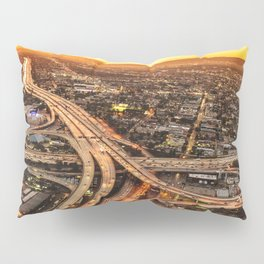 los angeles junction Pillow Sham