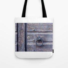 The Door knocker Tote Bag