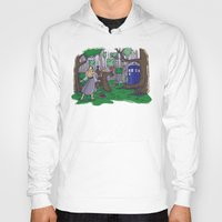 hallion Hoodies featuring Visions are Seldom all They Seem by Karen Hallion Illustrations