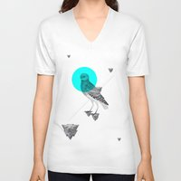psychology V-neck T-shirts featuring Archetypes Series: Wisdom by Attitude Creative