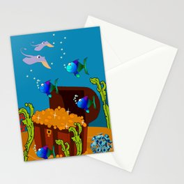 Treasure Chest Stationery Cards
