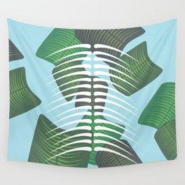 Leaf Bones Wall Tapestry