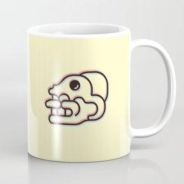 Monkey Skull - Aztec Glyph Coffee Mug