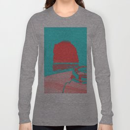 Sea Cave, Boat Long Sleeve T-shirt