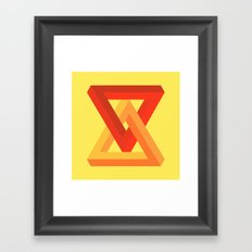 Impossible Object II Framed Art Print