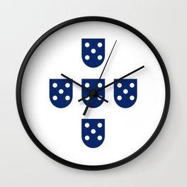 Quinas de Portugal Wall Clock