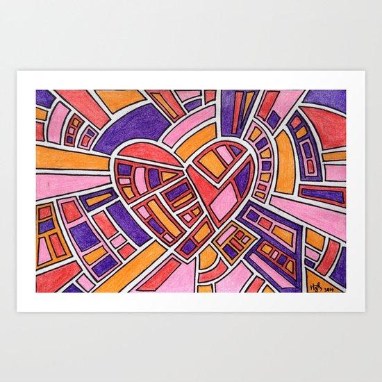 Much Love Art Print