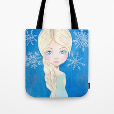 Ice queen Tote Bag