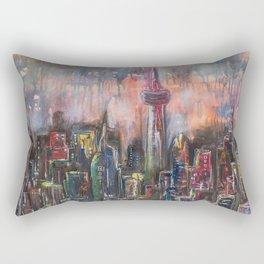 Toronto At Night Rectangular Pillow
