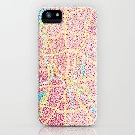 Dallas Map iPhone Case