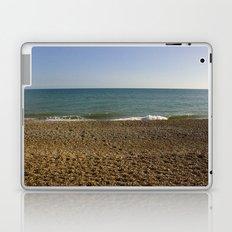 Evening Tide on a cobbled beach Laptop & iPad Skin