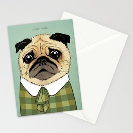 Mad Men Dogs: Puggy Olson Stationery Cards