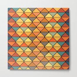 Checkered background v2 #society6 #decor #buyart #artprint Metal Print