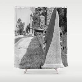 High Water Mark Memorial Shower Curtain