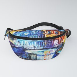 Tradis Art On The River Way Fanny Pack