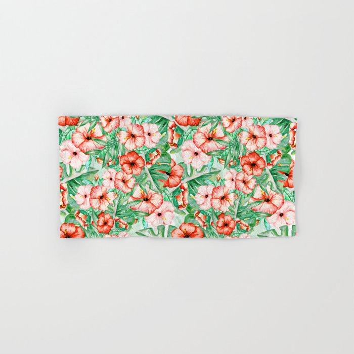 Tropical Summer #16 Hand & Bath Towel