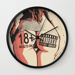 Um, sign me in! Wall Clock