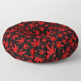 Canada Weed Floor Pillow
