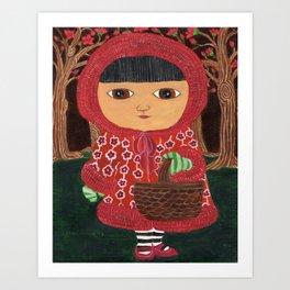 In The Hood Art Print