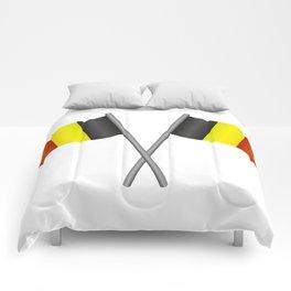 Belgium flag Comforters