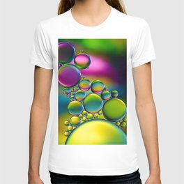 """""""Spherical Joining"""" - Oil and Water T-shirt"""