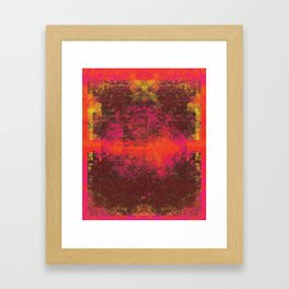 LAWN Framed Art Print
