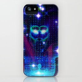 """""""Face of the Universe"""" by surrealpete iPhone Case"""